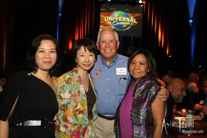 Asian American Chamber of Commerce meeting at Universal Studios