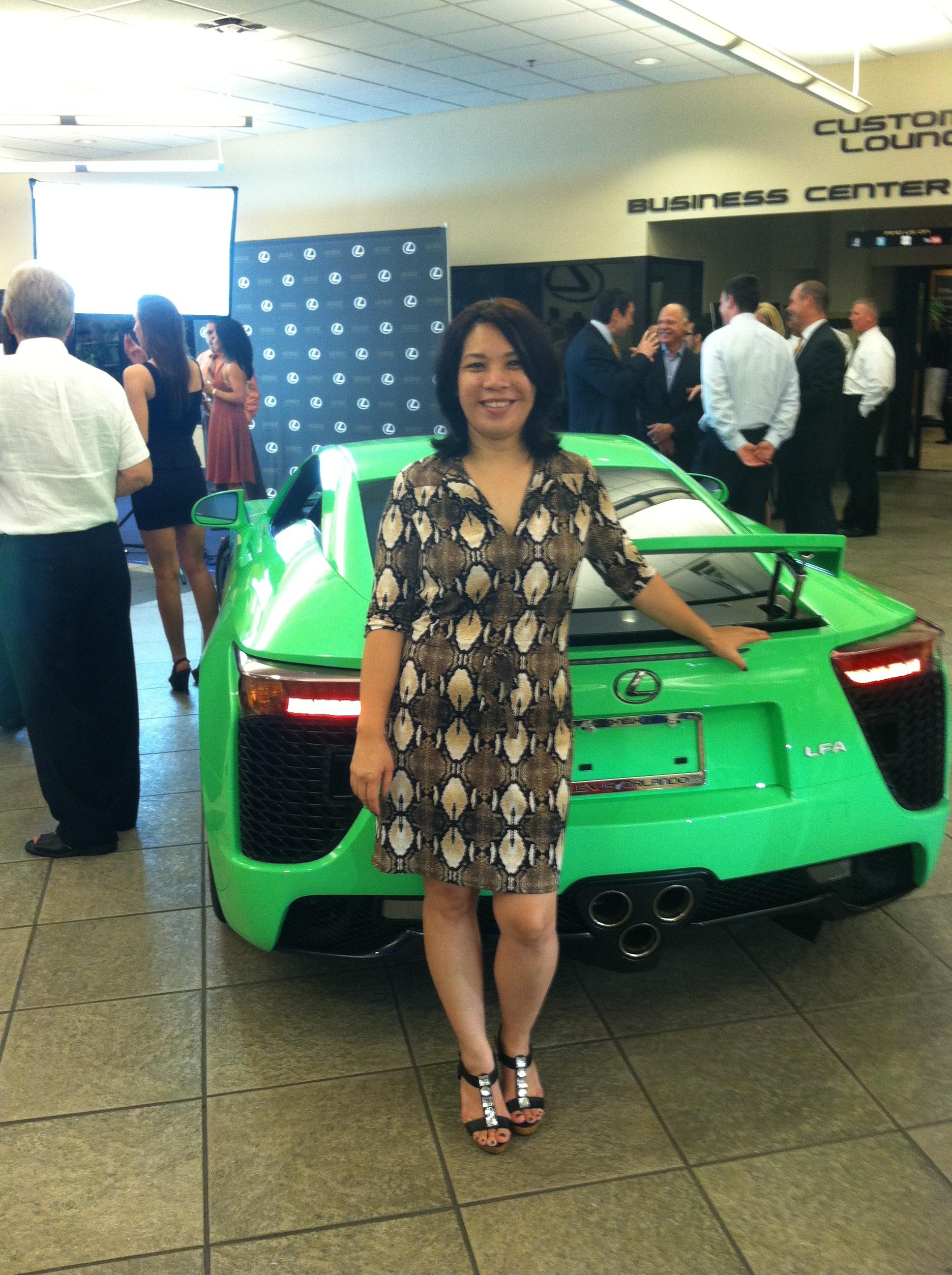 Lexus Unveiling Event
