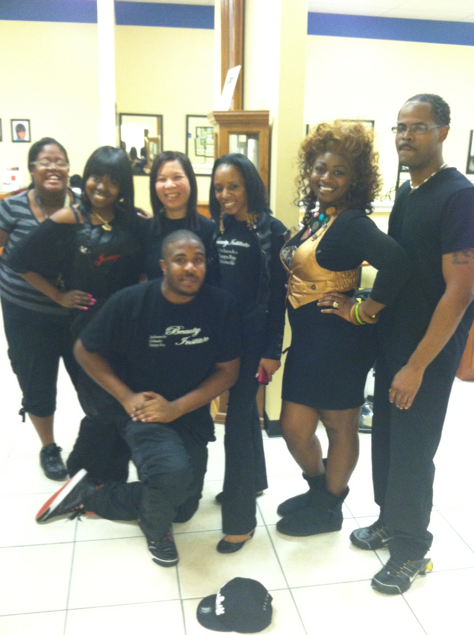 Threading Demo - Orlando Beauty School