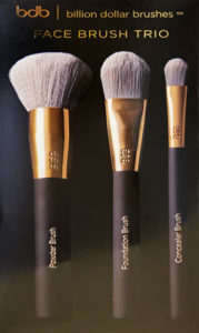 Billion Dollar Brows: Face Brush Trio